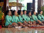 Sajian Karawitan Putri Kabupaten Gunungkidul di Festival Karawitan Putri antar Kabupaten-Kota se-DIY, Minggu 28 April 2019